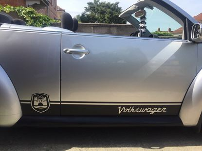 Picture of Beetle (Modern shape)  Wolfsburg side Stripes / Stickers