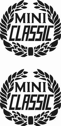 "Picture of ""Mini Classic"" crest  Decals / Stickers"