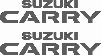 "Picture of ""Suzuki Super Carry""  Van / Pick up replacement Decals / Stickers"