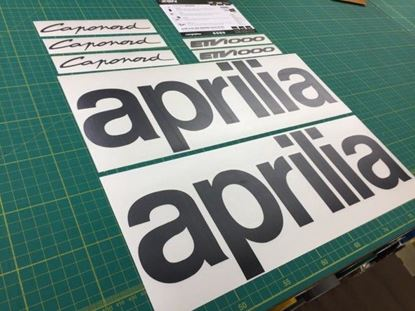 Picture of Aprilia Caponord Replacement Decals / Stickers