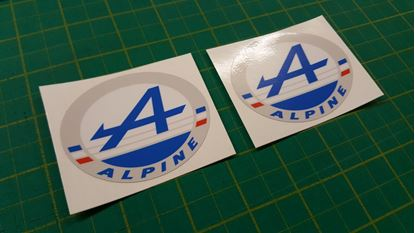 Picture of Alpine Decals / Stickers