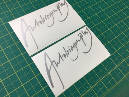 Picture of Range Rover MK2 Autobiography replacement rear lid Decals / Stickers