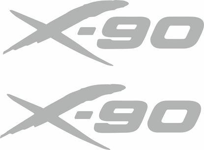 Picture of Suzuki X-90 Decals / Stickers