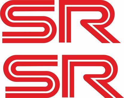 "Picture of Vauxhall Astra MK2 Replacement ""SR"" door Decals / Stickers"