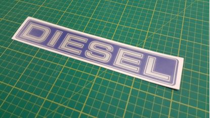 Picture of Nissan Patrol replacement Diesel Decal / Sticker