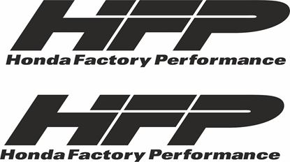 "Picture of ""Honda Factory Performance"" Decals / Stickers"