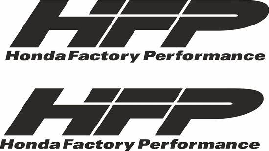 Zen Graphics Quot Honda Factory Performance Quot Decals Stickers