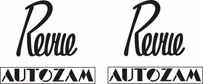 Picture of Mazda Autozam Revue Replacement Decals / Stickers
