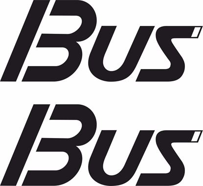 Picture of T3  Bus replacement Decals /  Stickers