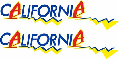 Picture of T3 California windsurfer replacement Decals /  Stickers