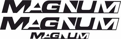 Picture of T3 Magnum replacement Decals /  Stickers