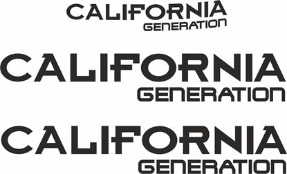 "Picture of VW T4  ""California Generation""  Decals / Stickers"