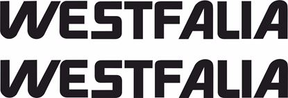 Picture of T25 / T3  Westfalia replacement Decals / Stickers