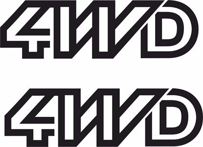 Picture of T25 / T3 Syncro 4WD replacement Decals /  Stickers