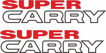 "Picture of Suzuki ""Super Carry""  Van / Pick up replacement Decals / Stickers"
