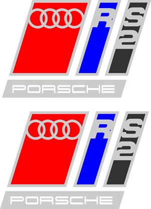 Picture of Audi RS2 Decals / Stickers