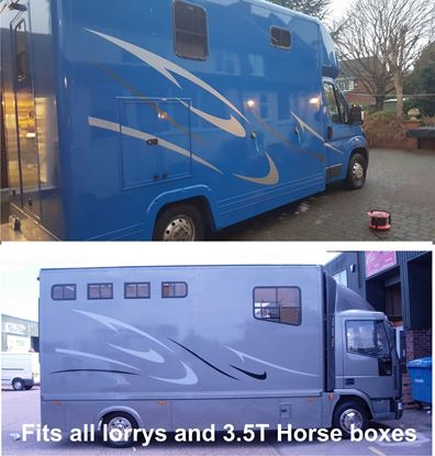 Picture of Lorry & 3.5 ton Horsebox Stripes / Stickers