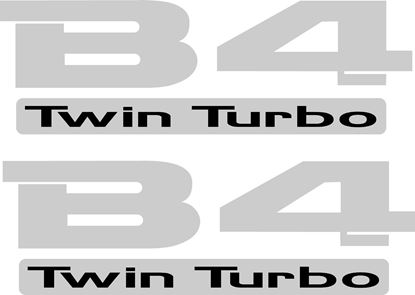 Picture of Subaru Legacy B4 Twin turbo Decals / Stickers