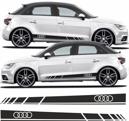 Picture of Audi A1 Side Stripes / Stickers