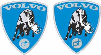 Picture of Volvo Custom Polestar Badge Decals / Stickers