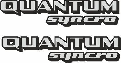 """Picture of Passat """"Quantum Syncro""""Restoration Decals /  Stickers"""