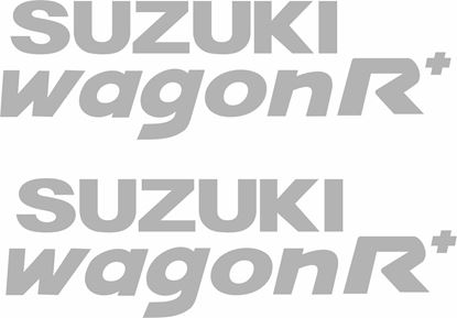 Picture of Suzuki Ignis Wagon R+ 2000 - 2008 Replacement side quarter Decals / Stickers