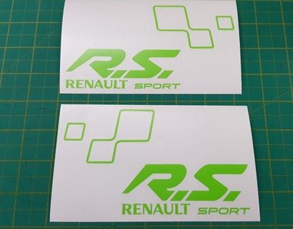 Picture of Renault Clio / Megane Sport R.S. General panel  Decals  / Stickers