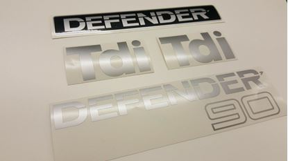 Picture of Land Rover Defender 90 TDi Replacement Decals / Stickers