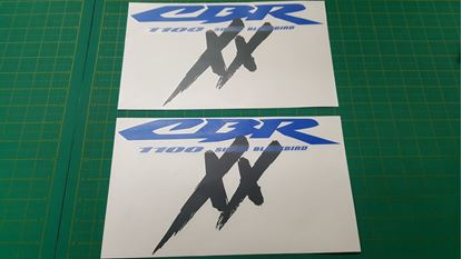 Picture of Honda CBR Super Blackbird fairing Decals  / Stickers