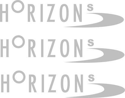 "Picture of Peugeot Expert / Teppe Replacement ""Horizon s"" Decals / Stickers"