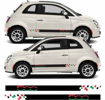 Picture of Fiat 500 Side Stripes / Stickers