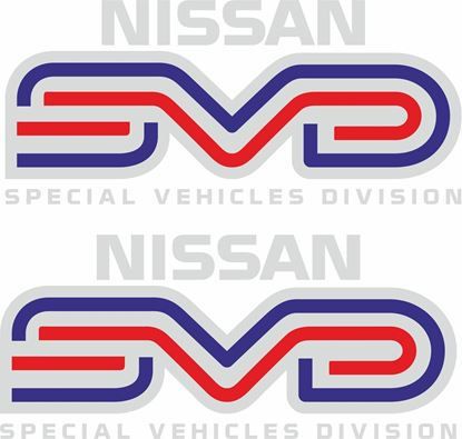 "Picture of Nissan Skyline R31 GTS ""SVD"" Stickers / Decals"