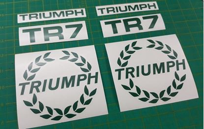 Picture of Triumph TR7 replacement Decals / Stickers