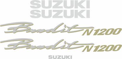 Picture of Suzuki  Bandit N1200 1997 - 2000 replacement Decals / Stickers
