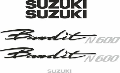Picture of Suzuki  Bandit 600N 1995 - 2000 replacement Decals / Stickers