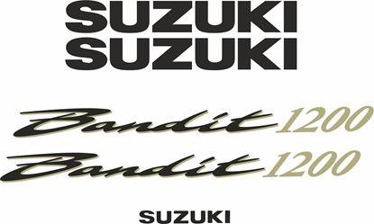 Picture of Suzuki  Bandit N1200  2001 - 2004 replacement Decals / Stickers