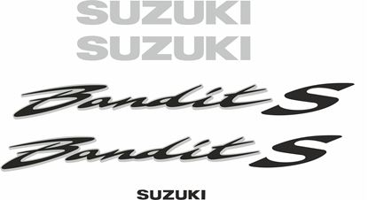 Picture of Suzuki  Bandit GSF 600S replacement Decals / Stickers