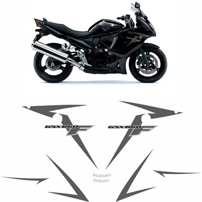 Picture of Suzuki GSX 650F 2014 replacement Decals / Stickers