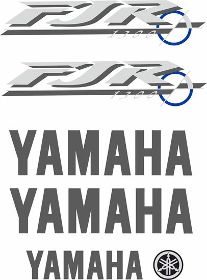 Picture of Yamaha FJR 1300 2001 - 2002 Replacement Decals / Stickers