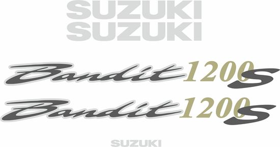 Picture of Suzuki  Bandit 1200S  2001 - 2005 replacement Decals / Stickers
