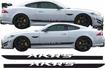Picture of Jaguar XKR-S  side Stripes / Stickers