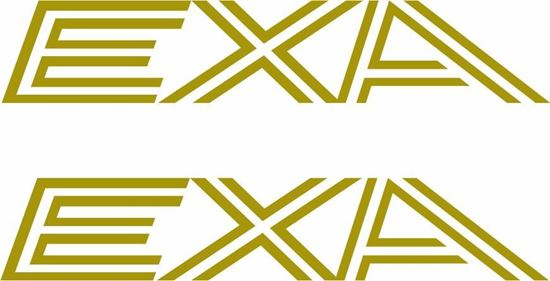 """Picture of Nissan """"EXA""""  Decals / Stickers"""