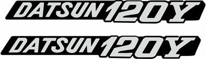 Picture of Datsun 120Y replacement Badge  Decals / stickers