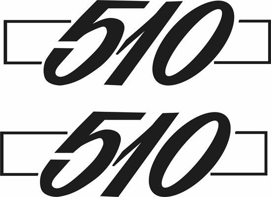 Picture of Datsun 510 replacement Badge  Decals / stickers