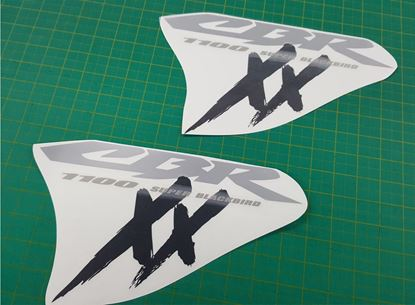 Picture of Honda CBR Super Blackbird 1100 XX  replacement Fairing Decals  / Stickers