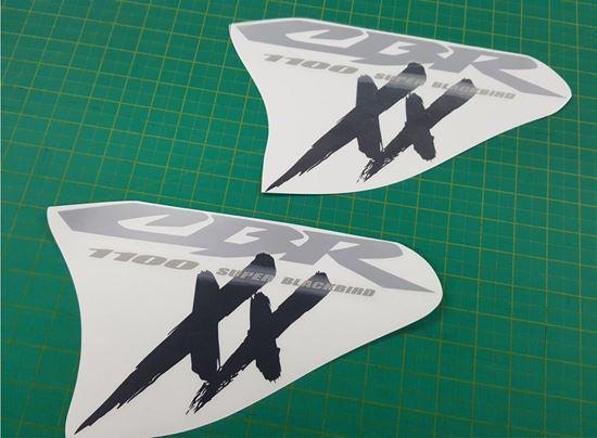 Picture of Honda CBR Super Blackbird 1100 XX  replacement Fairing Decals  / Stickers
