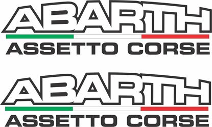 Picture of Fiat  500 / 595 / 695  Abarth  Decals / Stickers