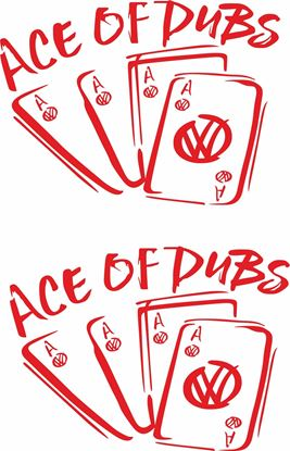 Picture of Ace of Dubs Decals /  Stickers