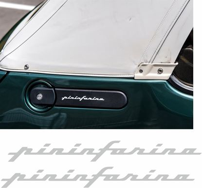 Picture of Peugeot 205 cabriolet pininfarina side quarter Badge Stickers / Decals