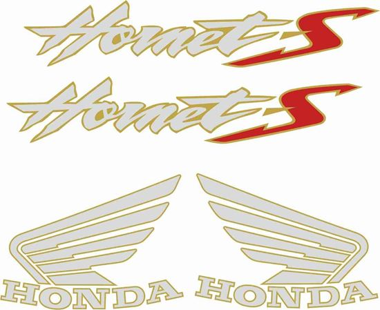 Picture of Honda Hornet 600S 2003 - 2005 replacement Decals / Stickers
